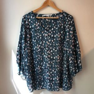 Collective Concepts Spring Bell Sleeve Top
